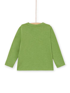 Tee Shirt Manches Longues Vert LOJOTEE4 / 21S90233TMLG626