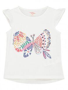 Tee-shirt manches courtes fille FATOTI3 / 19S901L3TMC000