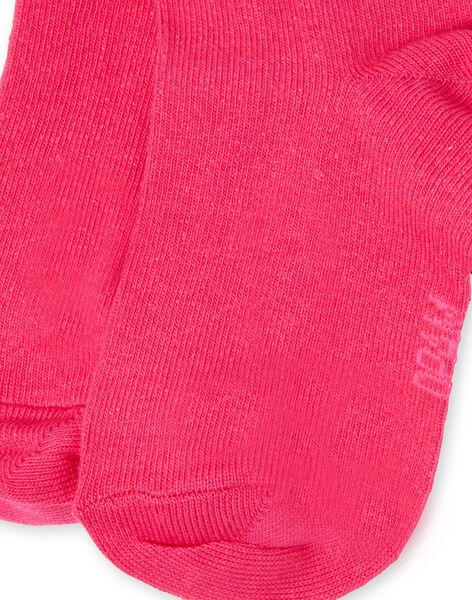 paire de chaussettes enfant fille LYAJOSCHO2A / 21SI0146SOQF507
