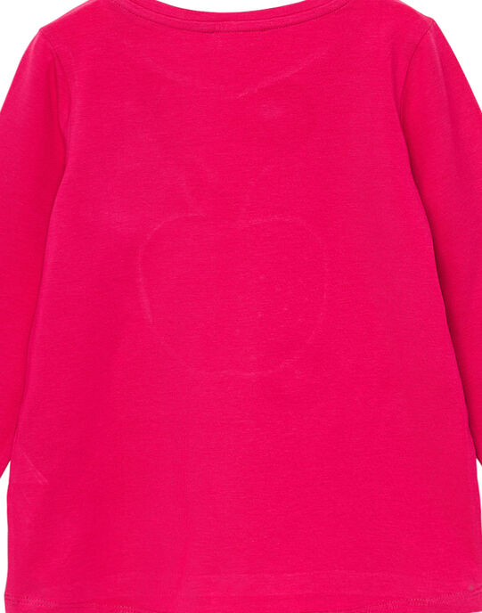Tee Shirt Manches Longues Rose JAJOTEE2 / 20S90145D32F507