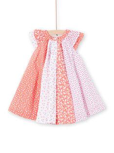 Robe à imprimé fantaisie bébé fille LIVIROB3 / 21SG09U3ROB419