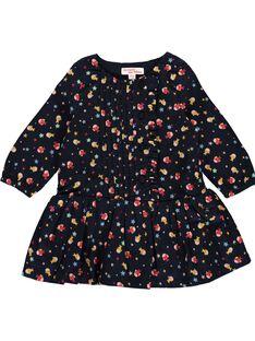 Robe fantaisie bébé fille DINAUROB2 / 18WG09G2ROB099