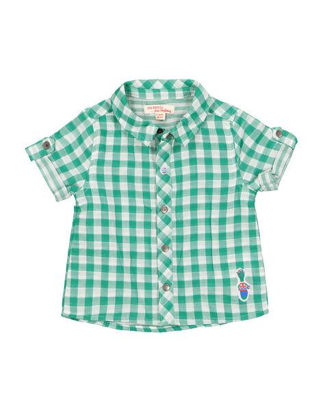 Chemise à carreaux bébé garçon FUCACHEM / 19SG10D1CHM099