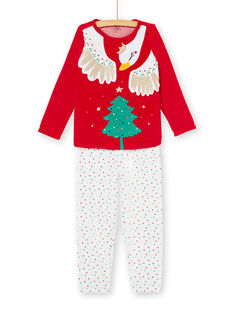 Pyjama Rouge KEFAPYJFIR / 20WH11R1PYJF529