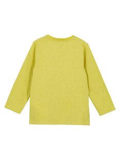 Tshirt Manches longues Jaune GOTUTEE1 / 19W902Q2TMLB111