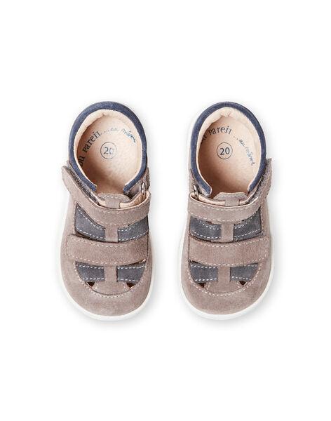 Salomés grises bébé garçon LBGSALGREY / 21KK3831D13940