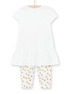 Pyjama Ecru LEFAPYJCOU / 21SH11C5PYJ001
