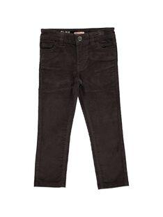 Pantalon slim en velours garçon DOJOPAVEL10 / 18W902J6D2B816