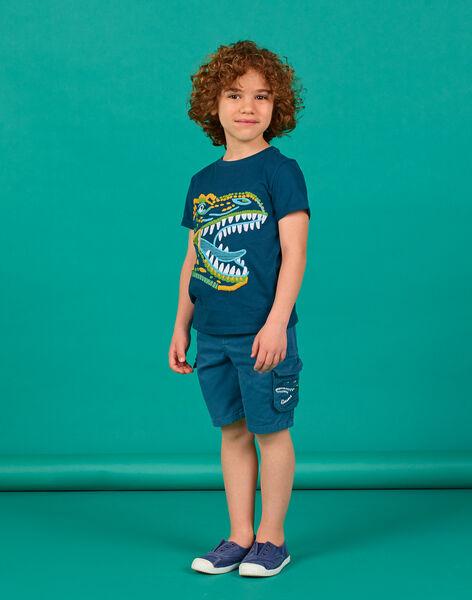 Tee Shirt Manches Courtes Kaki LOVERTI6 / 21S902Q6TMC622