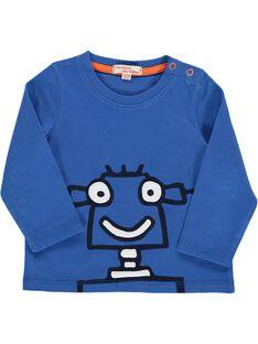 Tee-shirt manches longues fantaisie bébé garçon DUJOTEE3 / 18WG1039TMLC209