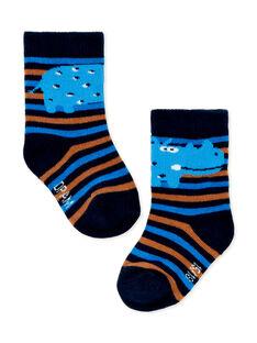 Paire de chaussettes layette garçon KYUSACHO1 / 20WI10O2SOQ713