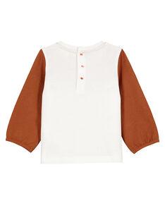 Tee Shirt Manches Longues Ecru GIJAUTEE1 / 19WG09H1TML001
