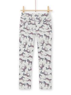 Pantalon Ecru chiné LAJOPANT3 / 21S90132D2B006