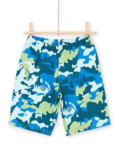 Pyjama vert et bleu enfant garçon LEGOPYCANI / 21SH12C8PYJ617