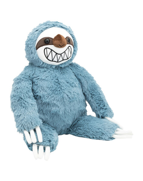 Peluche paresseux bleu grand sourire Jparesseu bleu / 20T8GF14PE2099