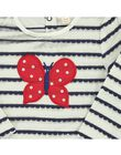 Tee-shirt manches longues bébé fille CIDETEE3 / 18SG09F3TML099