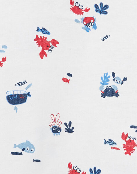 Tee Shirt Manches Courtes Ecru JUCEATI3 / 20SG10N2TMC001
