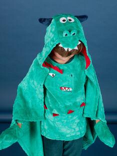 Cape enfant garçon motif dragon KEGOCAPDRA / 20WH12C4CPEG627