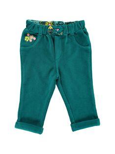 Pantalon en velours stretch bébé fille DIVEPAN / 18WG0971PAN714
