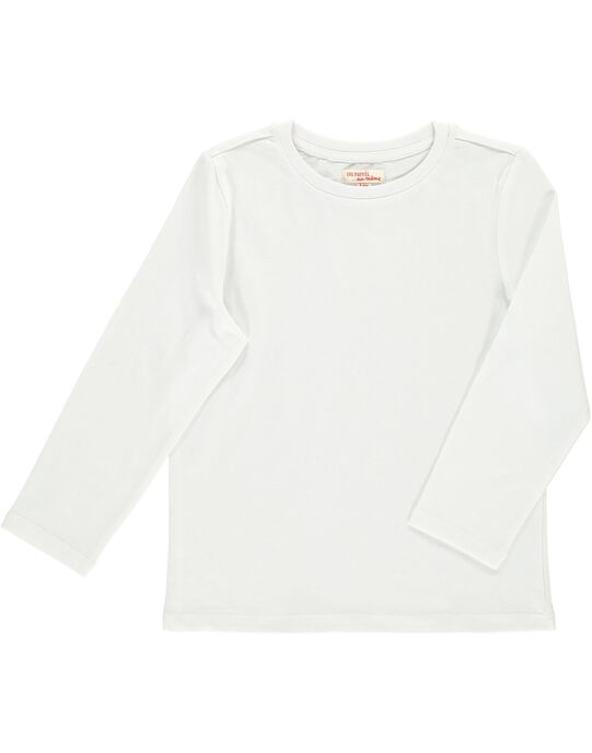 Tee Shirt Manches Longues Blanc cassé DOJOTEE3 / 18W9023BD32A001