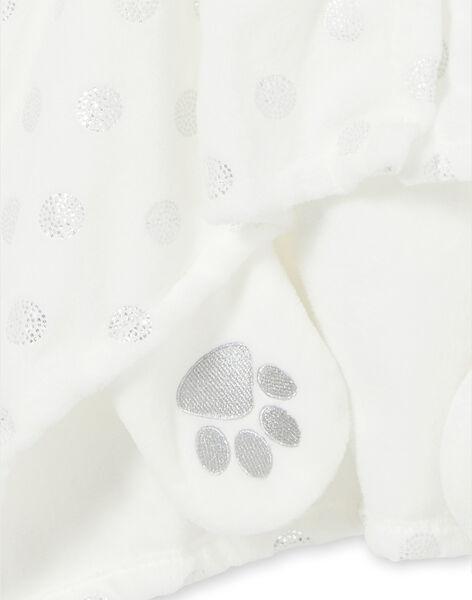 Cape enfant fille en soft boa panda licorne LEFACAPAND / 21SH1111CPE001