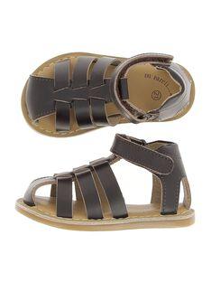 Sandale en cuir bébé garçon CBGSANDUN1 / 18SK38W3D0E802