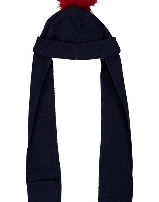 Bonnet Bleu marine GYITRIBON / 19WI09J1BON070