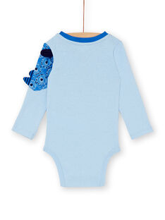 Body bleu bébé garçon KUSABOD / 20WG10O1BODC222