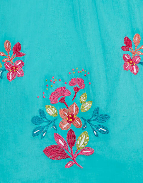 Robe brodée de fleurs JABOROB2 / 20S901H2ROB209