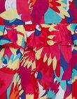 Robe sans manches imprimé perroquer JAMAROB1 / 20S901P2ROB000
