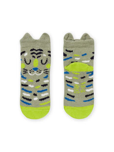 Chaussettes à motif animal bébé garçon MYUKACHO / 21WI10I1SOQG622