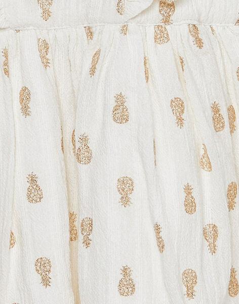 Robe imprimée bébé fille JIDUROB1 / 20SG09O2ROB001