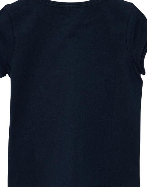 Tee Shirt Manches Courtes Bleu JAGRATI1 / 20S901E1TMCC243