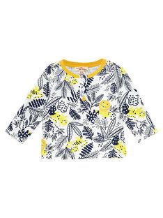 Tee Shirt Manches Longues Ecru JUTROTUN / 20SG10F2TML001