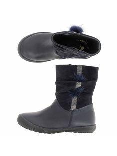 Boots en cuir fille DFBOOTELLE / 18WK35T3D0D070