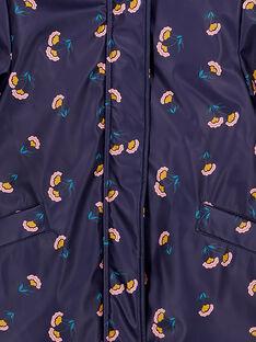 Imperméable Bleu marine GAJAUIMPER / 19W90181IMP070