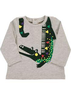 Tee Shirt Manches Longues Gris DUVIOTEE3 / 18WG10H3TMLJ908