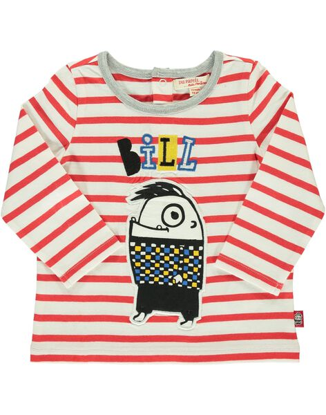 Tee-shirt manches longues bébé garçon DUROUTEE2 / 18WG1022TML099