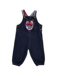 Salopette en jean bébé garçon CUDESAL / 18SG10F1SAL704
