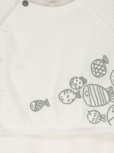Ensemble gilet et pantalon bébé mixte FOU1ENS4 / 19SF7711ENS000