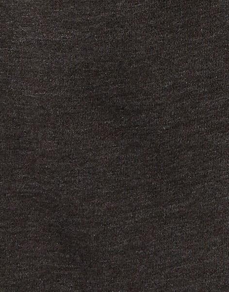 Jogging garçon basique gris chine anthracite.  KOJOJOB2EX / 20W90255D2A944
