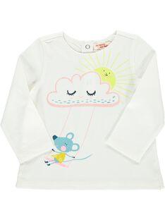 Tee-shirt manches longues bébé fille DIVETEE2 / 18WG0972TML001