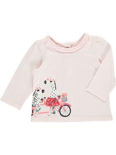 Tee-shirt manches longues bébé fille CIHOTEE / 18SG09E1TMLD310