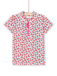 Tee-Shirt anti-uv Blanc LYAMERLUV2EX / 21SI01D4TUV000