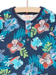 Tee Shirt Manches Courtes Violet LUBONTUN / 21SG10W1TMC717