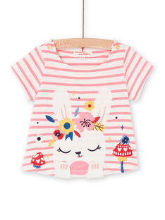 Tee Shirt Manches Courtes Ecru LIHATEEX / 21SG09X1TMC001