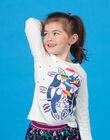 Tee Shirt Manches Longues Ecru LANAUTEE2 / 21S901P2TML001