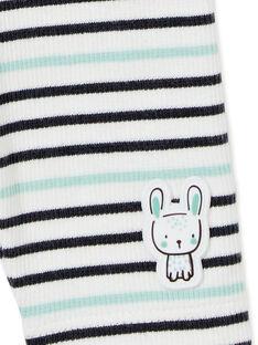 Ensemble chemise et pantalon bébé garçon KUBOENS / 20WG10N1ENS001
