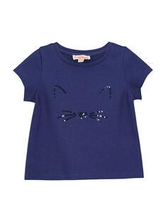 Tee-shirt manches courtes bébé fille FIJOTI4 / 19SG0934TMC703
