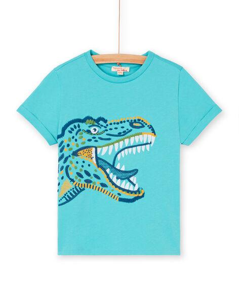 Tee Shirt Manches Courtes Bleu LOVERTI1 / 21S902Q1TMCC215